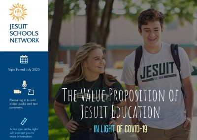 Value Proposition of Jesuit Education